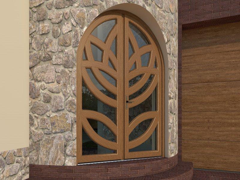 Композитные двери из стекловолокна