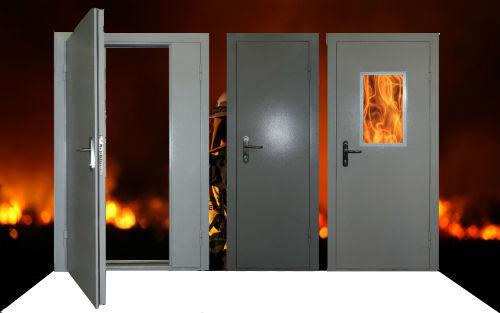 Классификация огнеупорных дверей