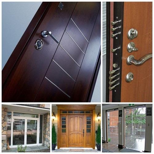 Материалы для входных дверей, делаем лучший выбор