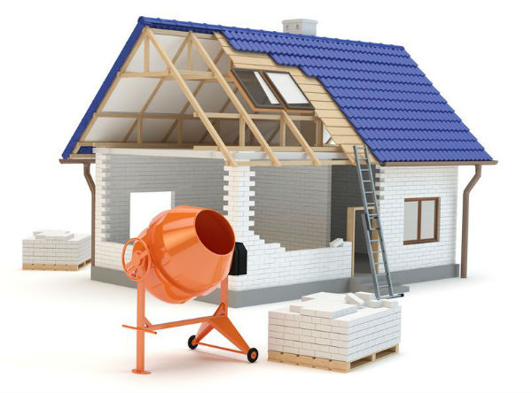 Строительство загородного дома, доступные материалы