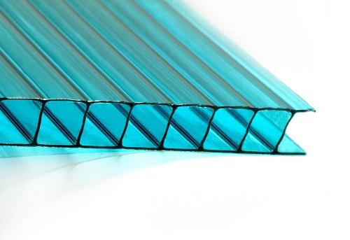 Листы сотового полимерного пластика имеют следующие размеры: