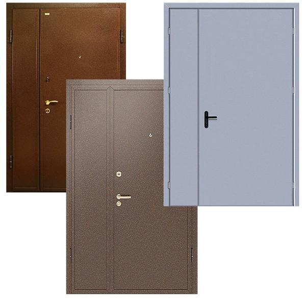 Входные металлические тамбурные двери