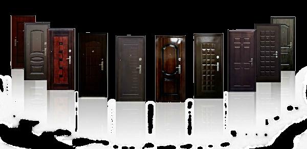 Стальные двери виды отделки